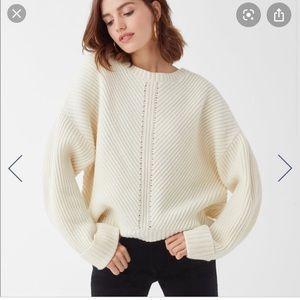 Splendid Sedona wool oversized chunky knit sweater